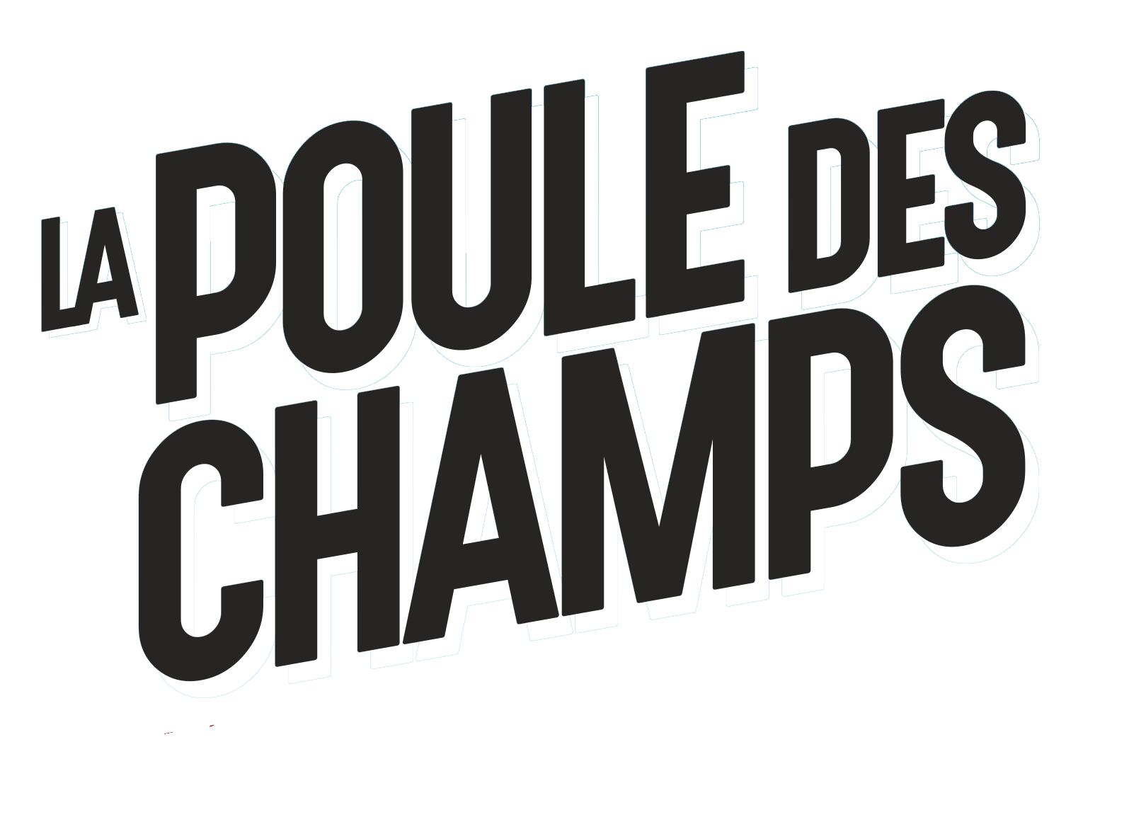 Logo Poule des champs 15ème édition